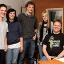 Producer Erwin Musper (Van Halen, Anouk enz.) in the house