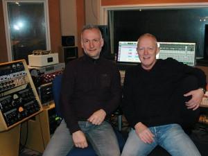 Countryzanger Eddy Gee zangopnames - opnamestudio Studiobizz