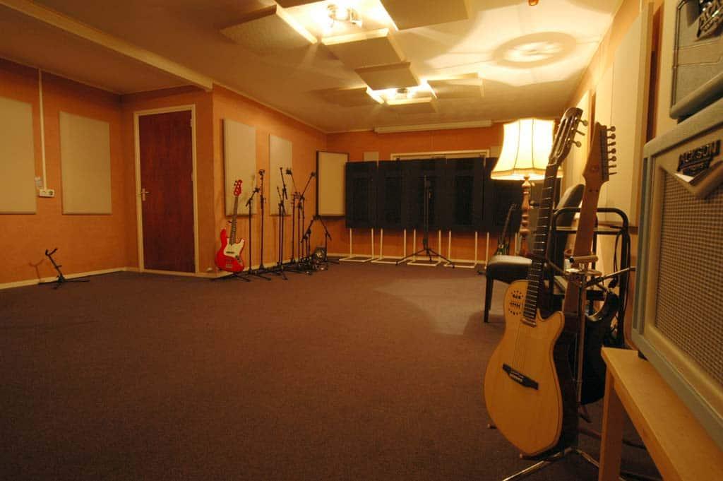 Muziekstudio recordingroom