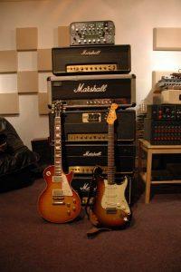 elektrisch gitaar opnames